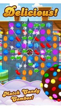 Candy Crush Saga Screenshot - 4