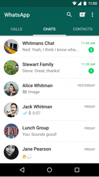 WhatsApp Messenger Screenshot - 2