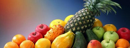 Fruits Decor Facebook Covers